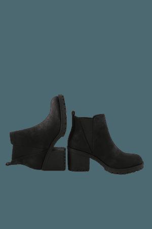 Dirty Laundry Lisbon - Black High Heel Booties - Ankle Booties - Lulus