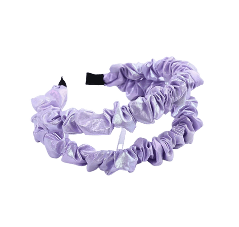 AliExpress Purple Satin Headband