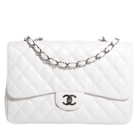 white bag