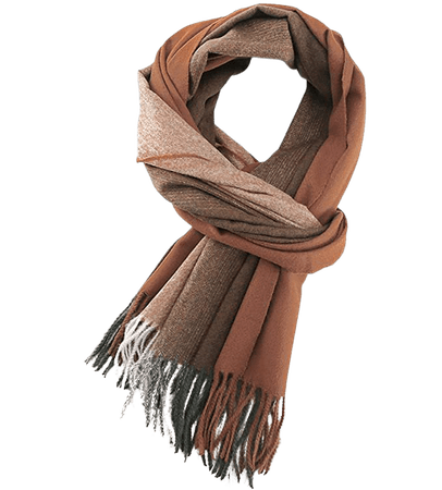Designer Cashmere Scarf Women Winter Scarves Shawls And Wraps Thick Warm Pashmina Lady Blanket Scarf, Shades Of Brown at Amazon Women's Clothing store