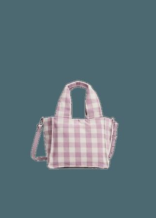 Fabric mini bag - Women | Mango USA