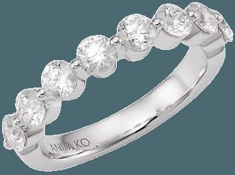 Anita Ko 18K White Gold Floating Diamond Ring | SaksFifthAvenue