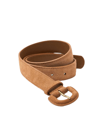 AEO Covered Buckle Leather Belt