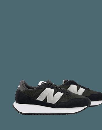 New Balance 237 sneakers in black   ASOS