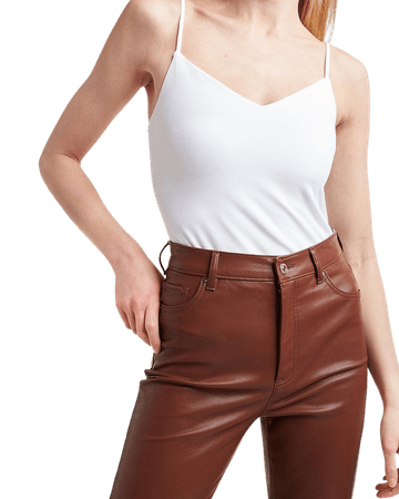 Fitted V-Neck Cami