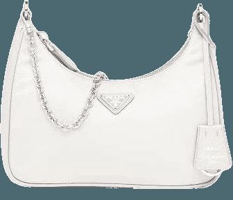 Prada Re-edition 2005 Nylon Bag, Women, White | Google Shopping
