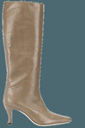 BY FAR Stevie mid-heel boots - FARFETCH