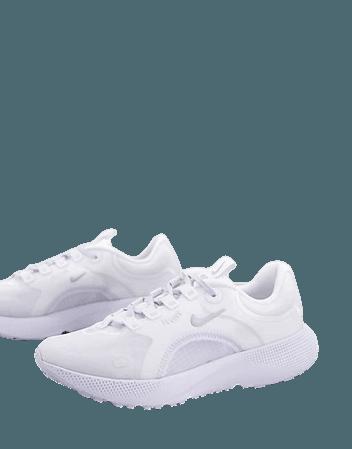 Nike Running React Escape Run sneakers in white   ASOS