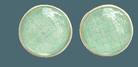 Amazon.com: Mint green stud earrings. Mint greeen studs.: Handmade