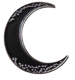 Crescent Moon Pin – Strange Ways