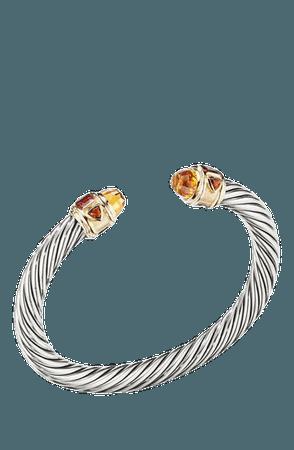 David Yurman Renaissance Cuff Bracelet with 14K Yellow Gold | Nordstrom