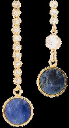 Brinker & Eliza Tiny Dancer Chain Drop Earrings - Farfetch