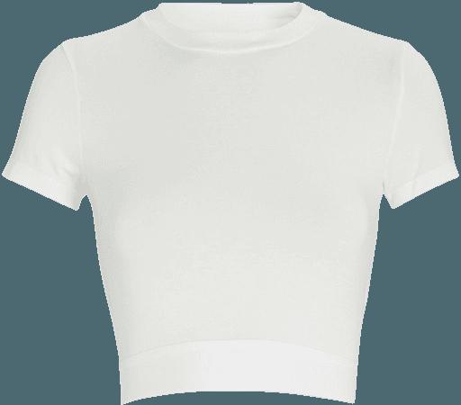 VAARA Finn Cropped Elastic T-Shirt | INTERMIX®