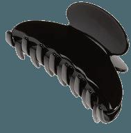 BLACK HAIR CLIP PNG