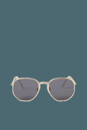 Sunglasses - Gold-colored/black - Ladies   H&M US
