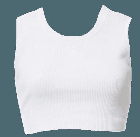 Chanel White Tank top