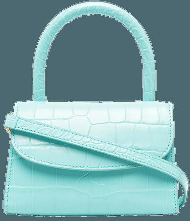 BY FAR Mini crocodile-embossed Leather Bag - Farfetch