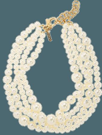 Lele Sadoughi Multilayered Imitation Pearl Necklace | Nordstrom