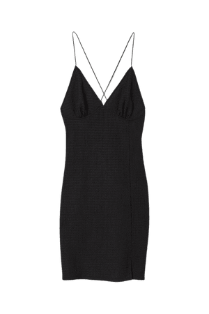 Bodycon Dress - Black - Ladies   H&M US
