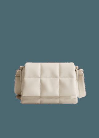 Quilted cross-body bag - Women | Mango USA
