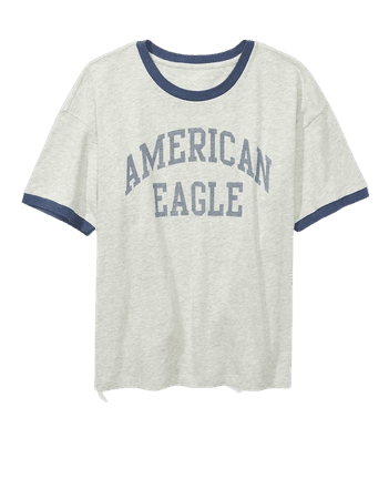 AE Graphic Ringer T-Shirt