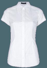 White Button UP Collar Shirt