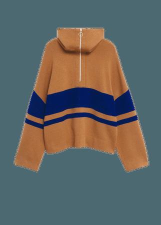 Zip knit sweater - Women | Mango USA