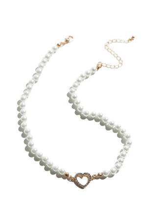 Dolly Pearl Charm Necklace | Urban Outfitters