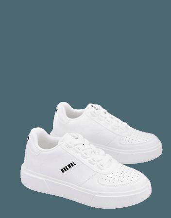 Nokwol Angel vegan sneakers in white | ASOS