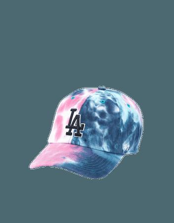 '47 LA Dodgers Tie-Dye Baseball Hat