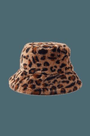 Roxxi Faux Fur Bucket Hat | Urban Outfitters