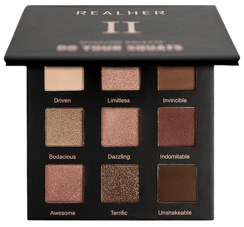Realher Do Your Squats Eyeshadow Palette Ii