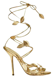The List: October's Objects of Desire | Gold wedding shoes, Wedding shoes, Wedding shoes gold heels