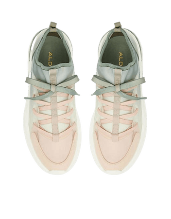 ALDO Dwardonii chunky sneakers in green ombre | ASOS