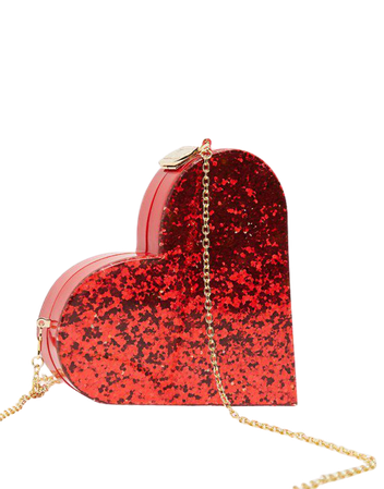 ASOS DESIGN novelty heart clutch bag | ASOS