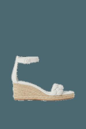 Wedge-heel Espadrille Sandals - White - Ladies | H&M US