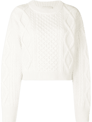 cropped white sweater - Google Search