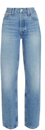 RE/DONE 90s High-Rise Loose Straight-Leg Jeans | INTERMIX®
