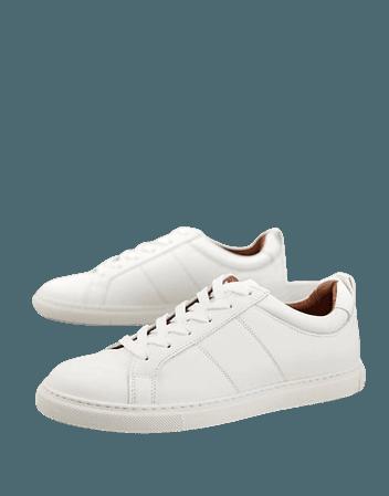 Whistles Koki sneakers in white | ASOS