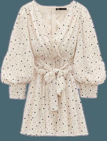 MICRO DOT MINI DRESS | ZARA United States