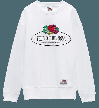 FRUIT OF THE LOOM ® SWEATSHIRT | ZARA United States