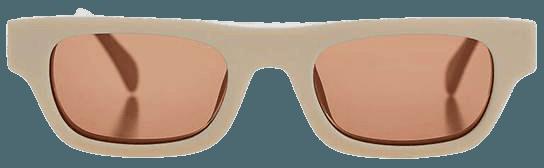 ANINE BING Otis Sunglasses - Bone