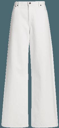 The Row Egli Wide-Leg Jeans | SaksFifthAvenue