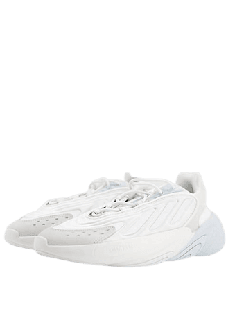 adidas Originals Ozelia sneakers in dark and light gray | ASOS