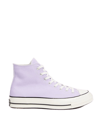 Converse chuck '70 hi lilac sneakers | ASOS
