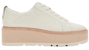TOYAH SNEAKERS IN WHITE LEATHER – Dolce Vita