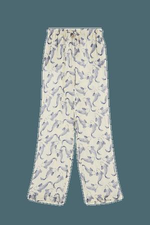 FISH PRINT PANTS | ZARA United States