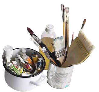 Paint & Brushes