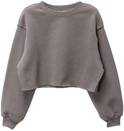 Amazon.com: Women Pullover Cropped Hoodies Long Sleeves Sweatshirts Casual Crop Tops for Fall Winter (Ash, X-Large): Clothing