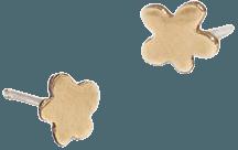 Geoflora Jewelry Mini Floral Stud Earrings